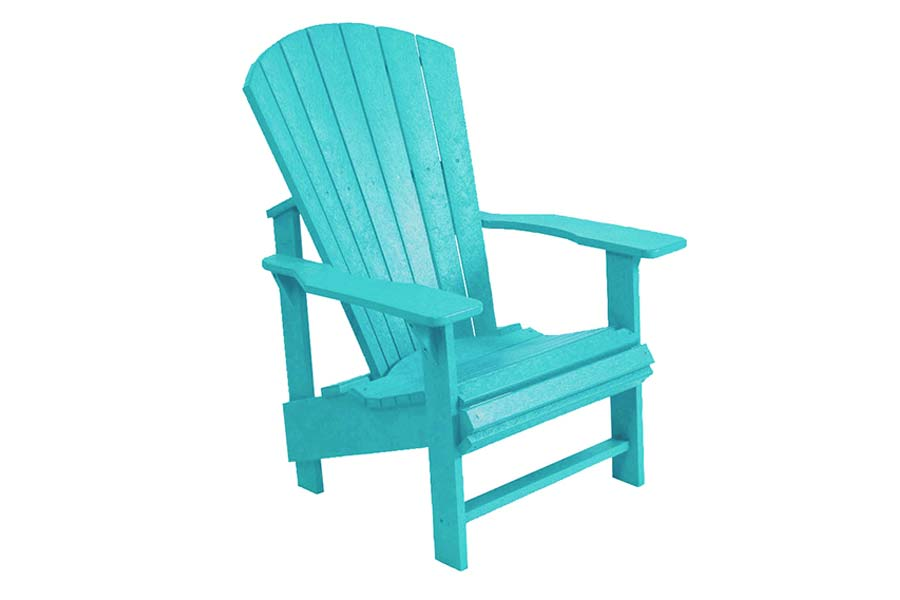 Upright Chair – Turquoise