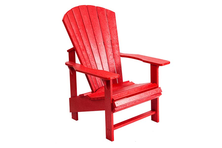 Upright Chair – Red