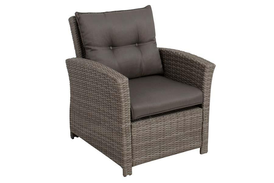 Club Chair Mixed Grey