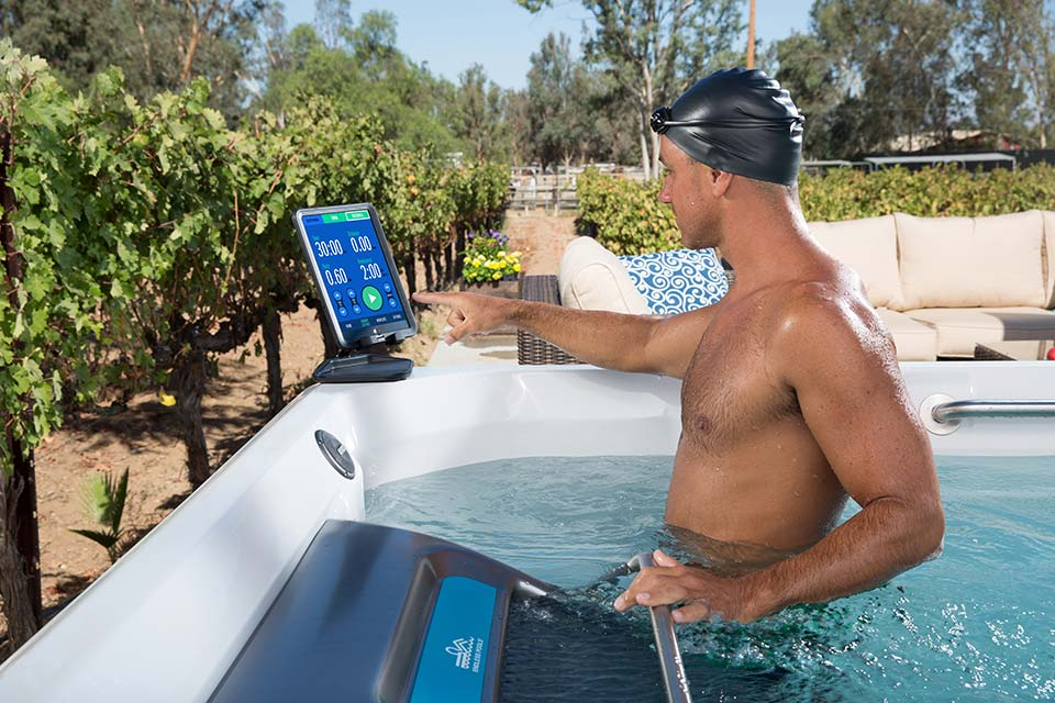 E2000 Dual Temperature Fitness System - Pioneer Family Pools - Gallery