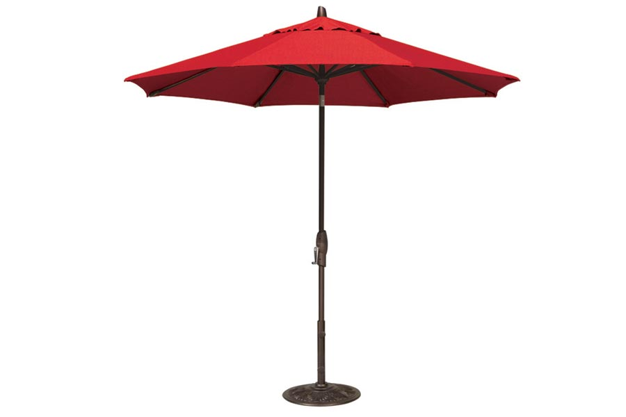 9′ Market Polyester Umbrella