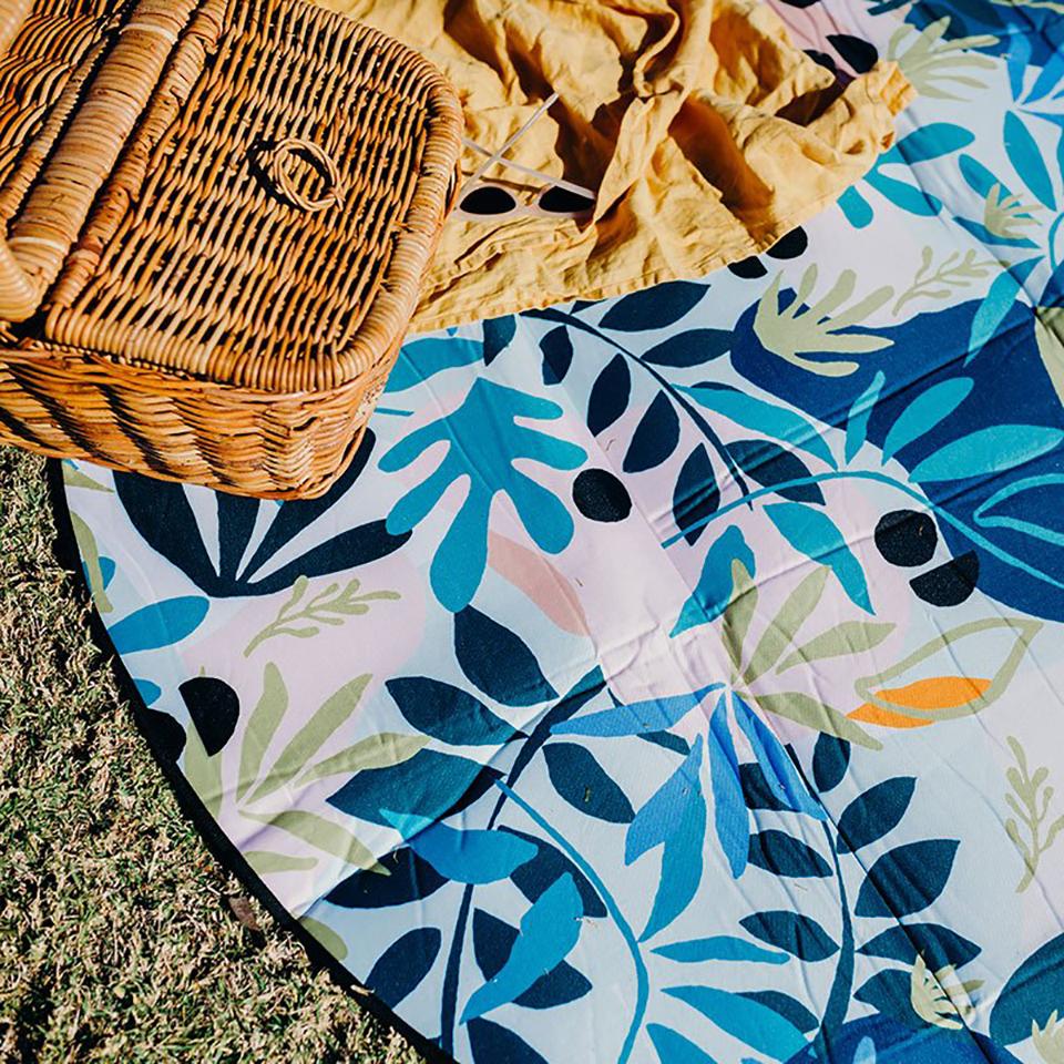 Eden 6′ Round Outdoor Mat