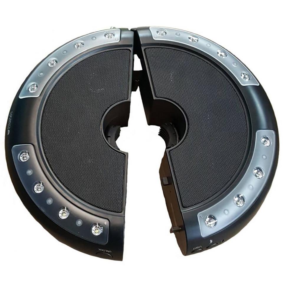 Bronze Luna Bluetooth Umbrella Speaker – Instruction Manual
