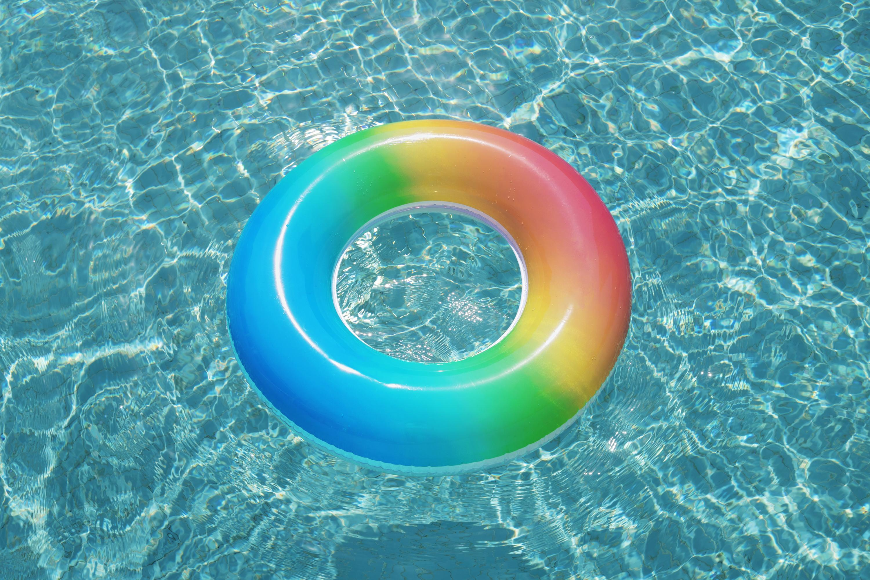 Rainbow Swim Ring