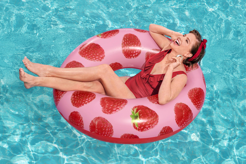 Raspberry Swim Ring