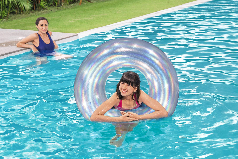 Iridescent Swim Ring