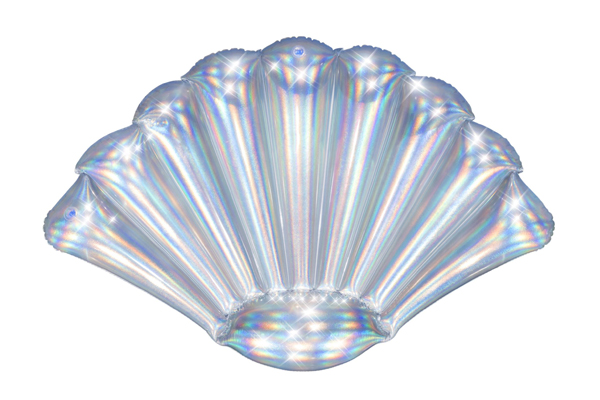 Iridescent Shell Float