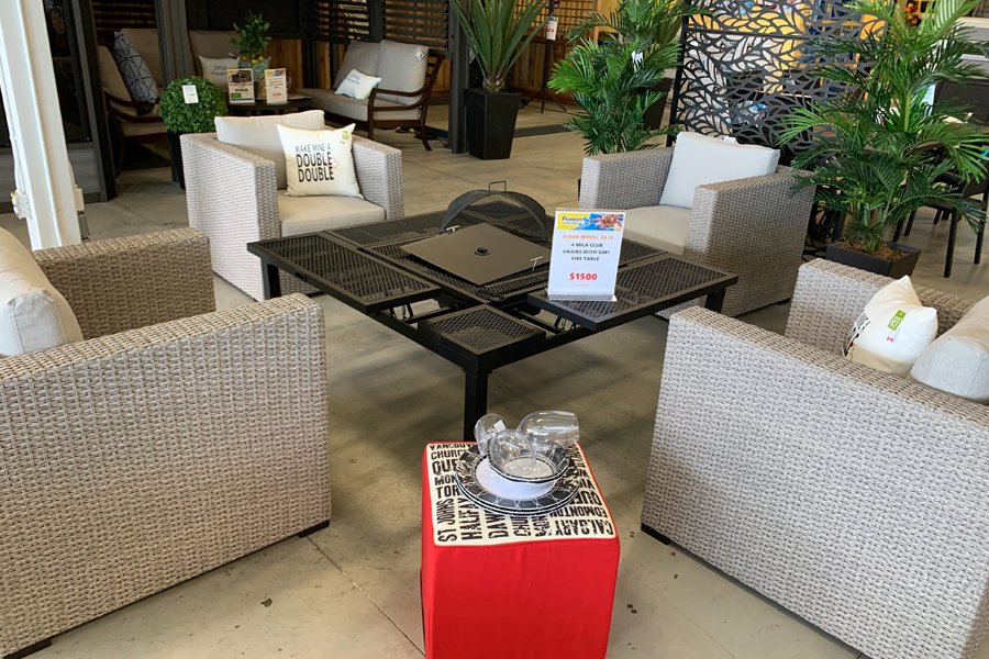 Mila & Fire Pit/Ice Bucket Table