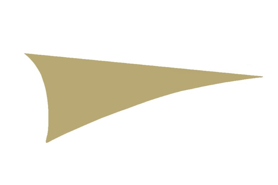 Taupe Triangular Sail