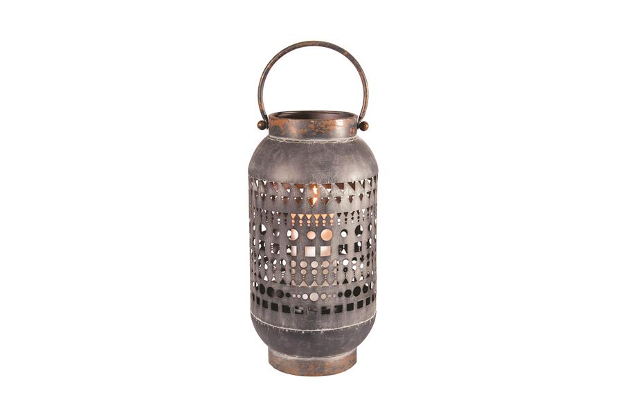 Geometric Metal Lantern