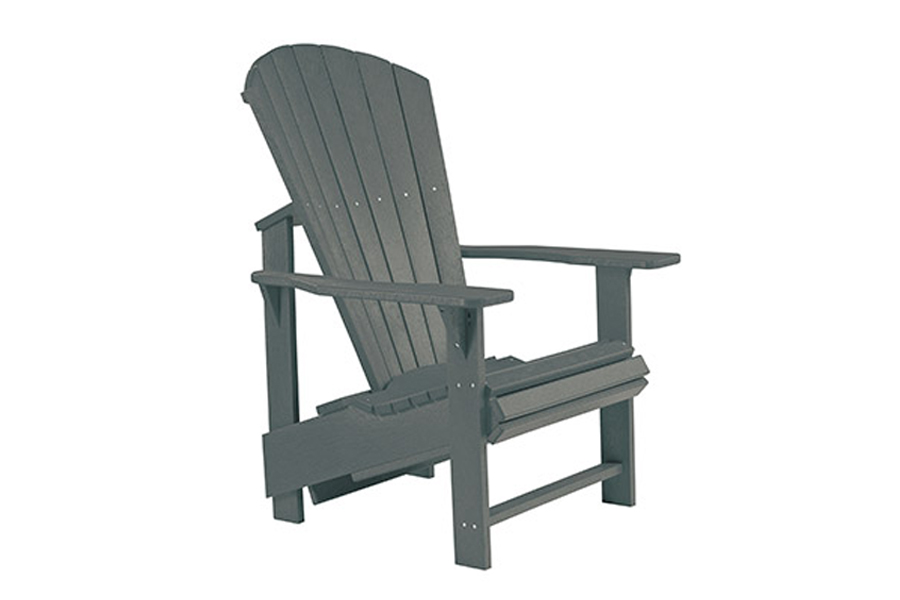 Upright Chair – Slate Grey