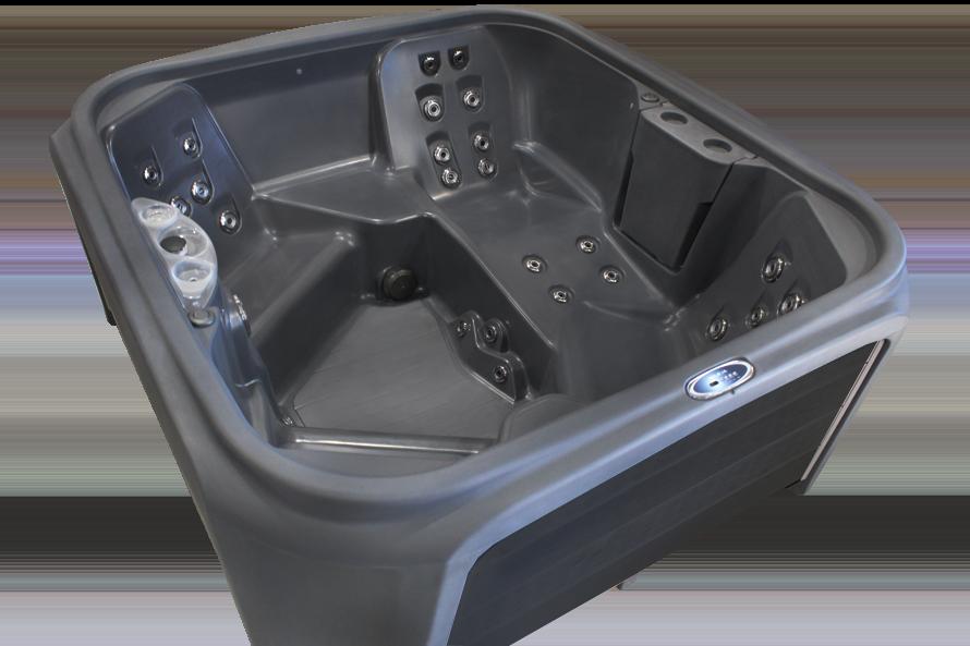 Stream Plug N Play Hot Tub - Pioneer Family Pools