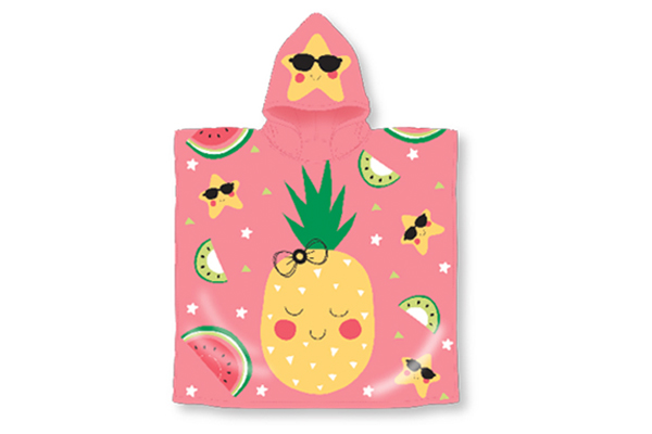 Pineapples Hooded Pool Towel
