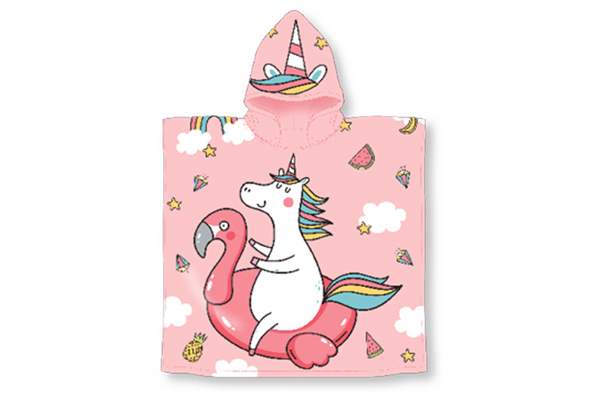 Unicorn Hooded Pool Towel