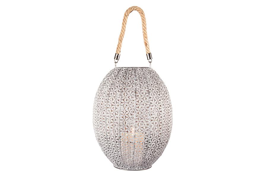 Metal Lantern Globe