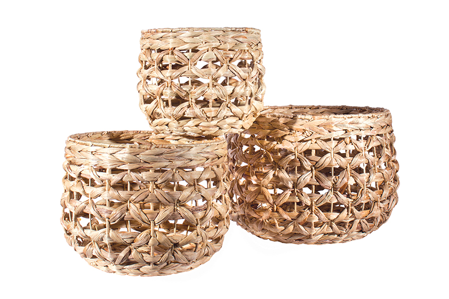 Hycinth Natural Basket Set