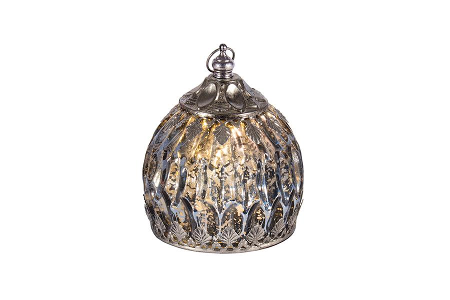 Lantern Globe LED Blue