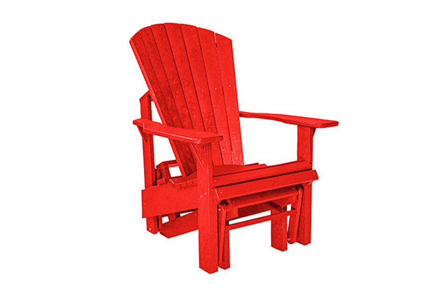Single Gliding Chair – Red