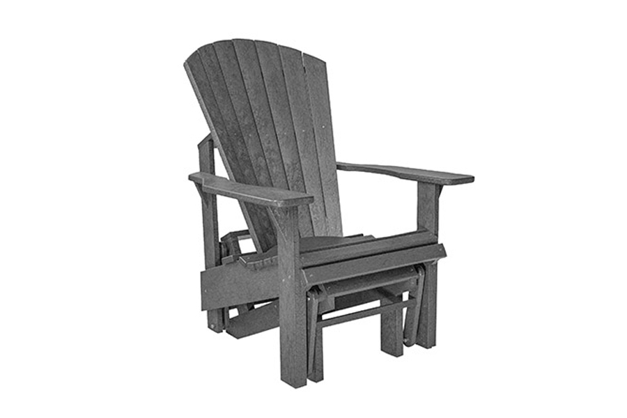 Single Gliding Chair – Slate Grey