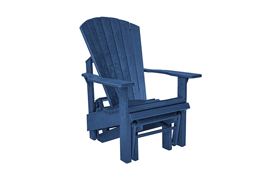 Single Gliding Chair – Navy