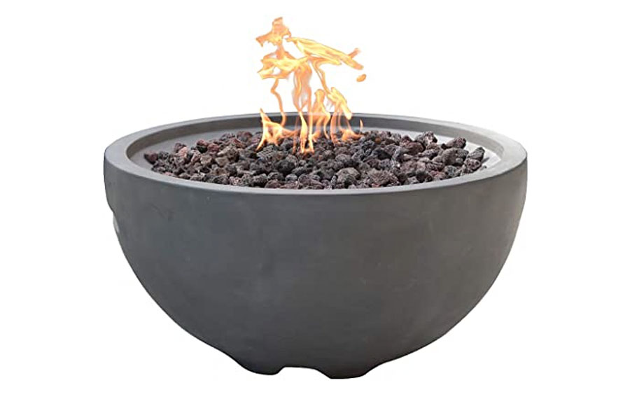 "26"" Round Nantucket Fire Bowl Propane"