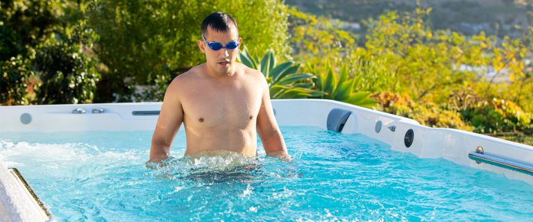 Swim Spa Workout Exercises
