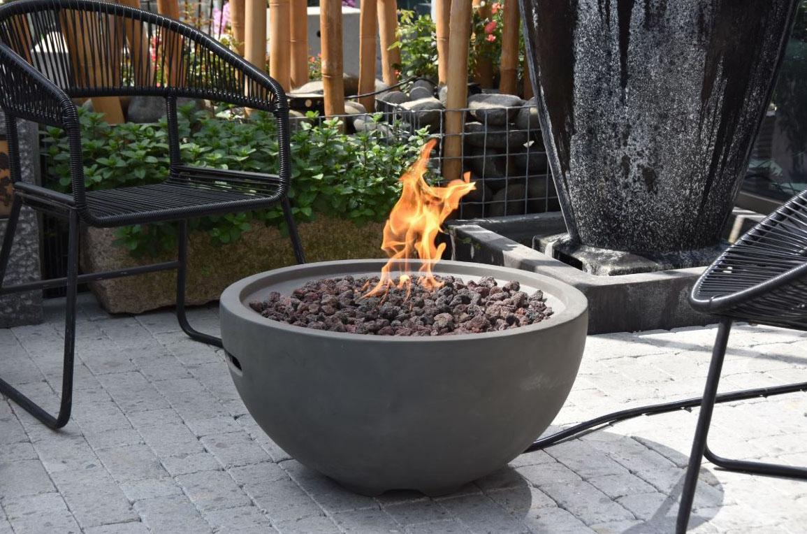 26″ Round Nantucket Fire Bowl NG