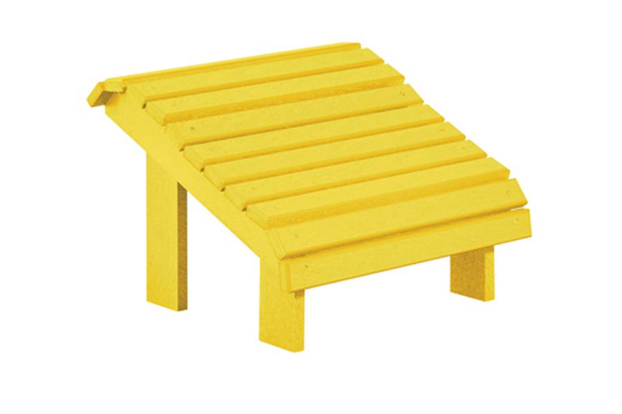 Premium Foot Stool – Yellow