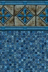 Royal Blue Mosaic