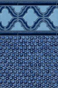 Seaside Penny Mosaic