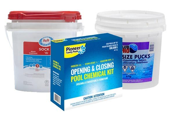 POOL OPENING CHEMICALS