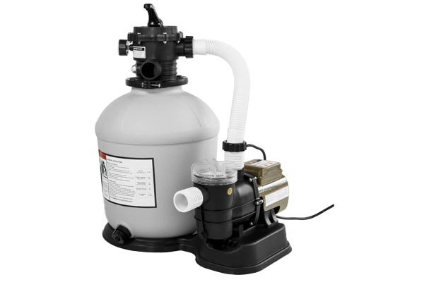 16″ Sand Filter With 3/4 HP Pump