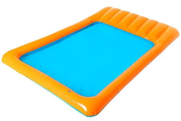 Slide-In Splash Pool